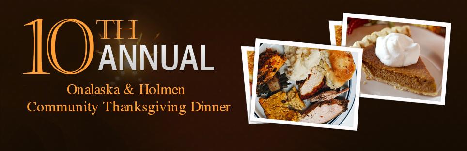 Onalaska and Holmen Community Thanksgiving Dinner